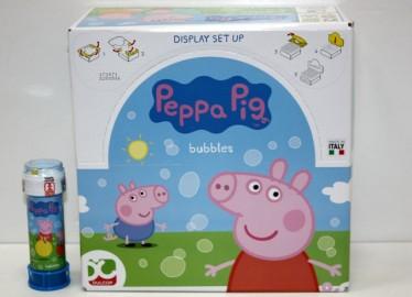 Pompas de Jabón Peppa Pig x 36
