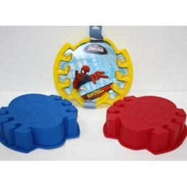 Spiderman Molde Silicona X 3