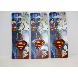 Superman Llavero Metal