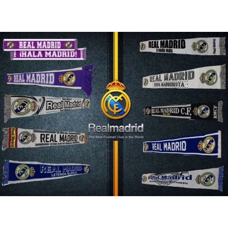 Real Madrid Bufanda Surtida x 5