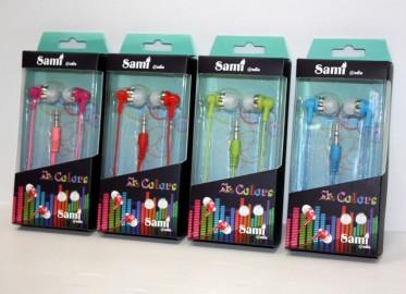 Auriculares Sami Silicona x 4