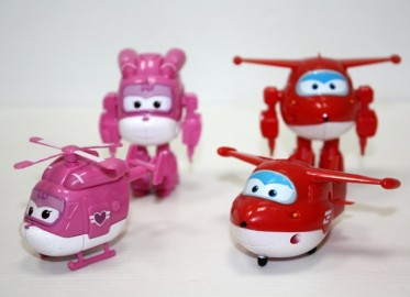 Superwings Figura Pvc x 8