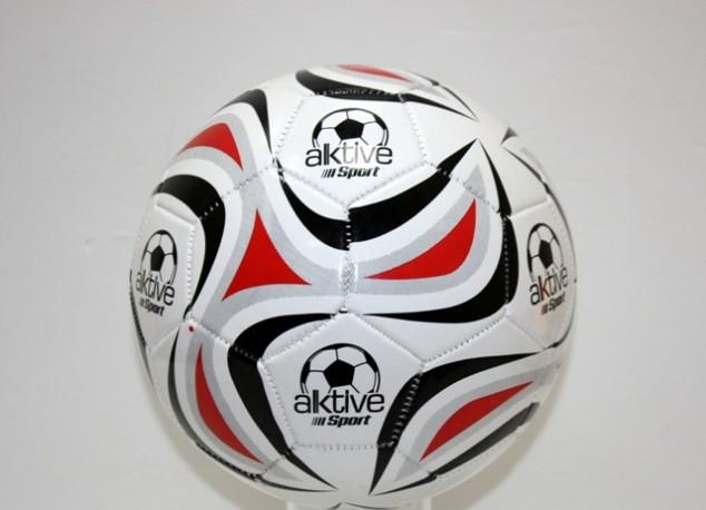 Balón Piel Aktive Blanco 23cm