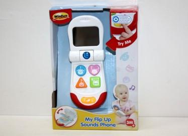 Teléfono Infantil Luz y Sonidos 12cm