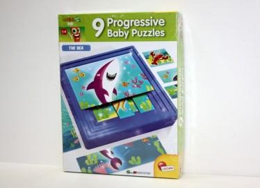 Juego 9 Puzzles Progresivos