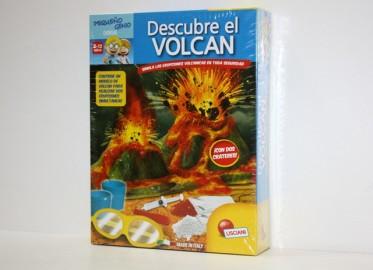 Juego Descubre el Volcán Erupciones