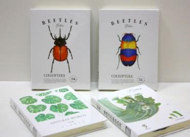 Libreta Insectos/Cactus/Plantas 14cm x 8