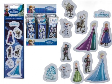 Frozen Stickers 3D x 25