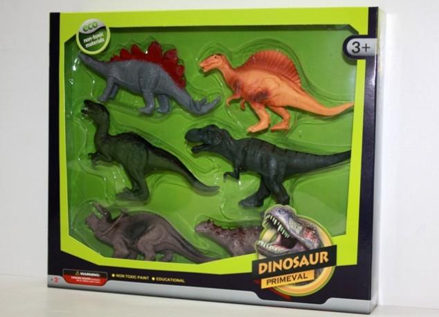 Set 6 Dinosaurios en Caja