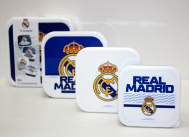 Real Madrid Set 4 Sandwicheras