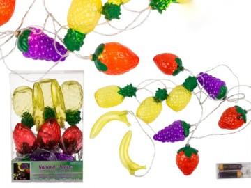 Guirnalda Frutas 10 Luces x 2