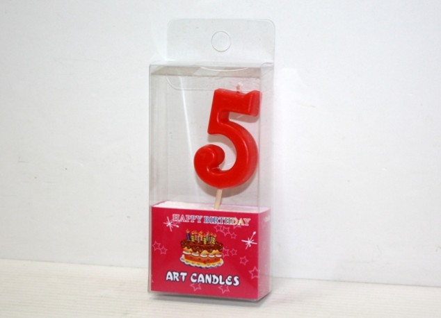 Vela Cumpleaños 5