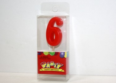 Vela Cumpleaños 6