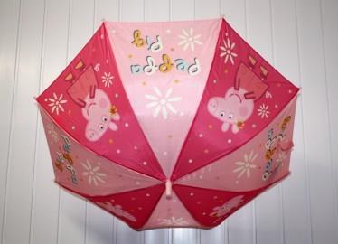 Peppa Pig Paraguas Automático x 2