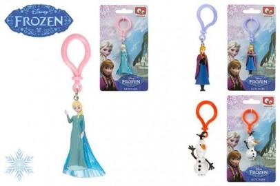 Frozen Figura PVC en Llavero 3 Modelos x 12