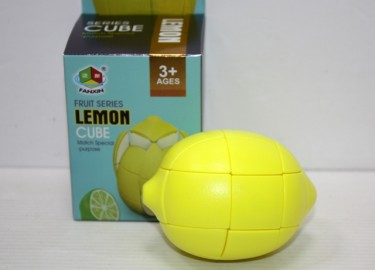 Cubo Tipo Rubick Fruit cube limon
