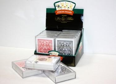 Juegos Falomir Baraja Poker Caja Plástico x 12