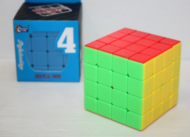 Cubo Tipo Rubick 4x4x4 Liso