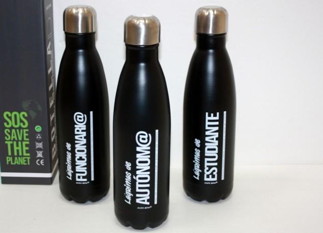 Botella Aluminio Autónomo/Estudiante/Funcionario x 3