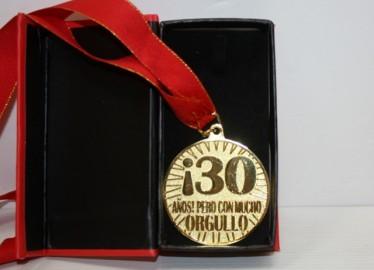 Medalla 30 Años