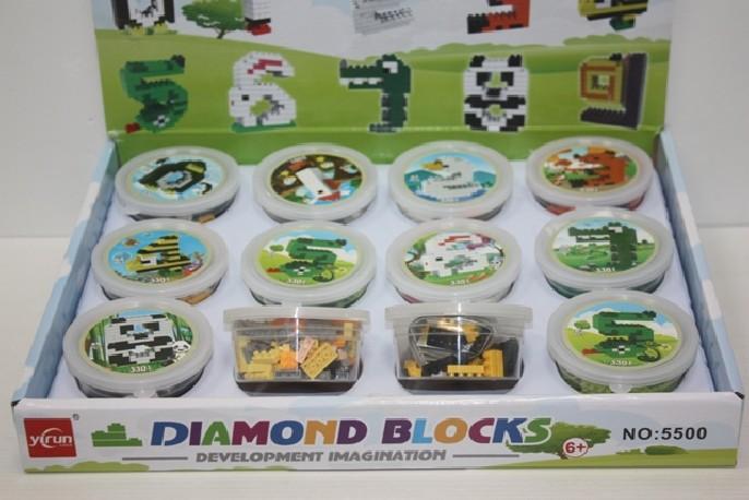 Mini Lego 45 a 110 Piezas x 12