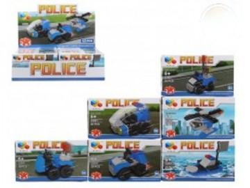 Blocs Tipo Lego Police x 12
