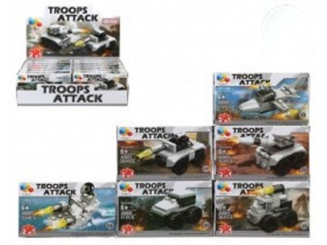 Blocs Tipo Lego Troops Attack x 12