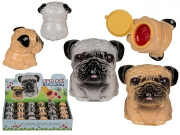 Brillo de Labios en Perrito Bulldog x 24
