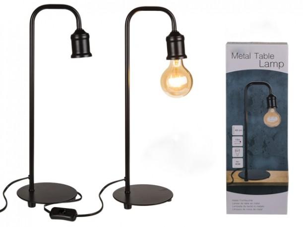 Lámpara Metal Negro 50 cm