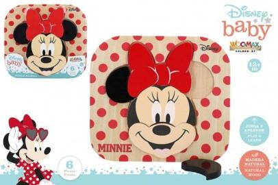Puzzle Madera Minnie