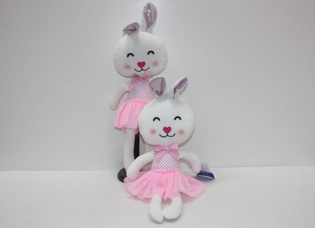 Bailarina Conejita Mini 35 cm x 2