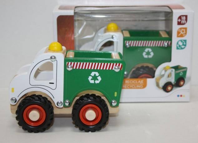 Camión Madera Servicios 18 cm