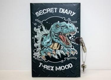Diario Secreto con Candado Dinosaurio