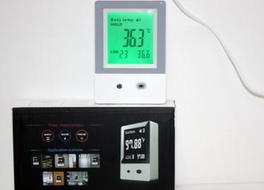 Termómetro infrarrojos Parlante de Pared (pc anterior 35 €)