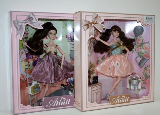 Muñeca Falda Tul con Complementos 30 cm x 2