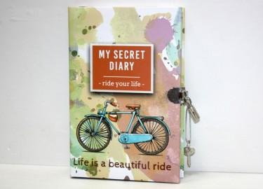 Diario Secreto Candado Bicicleta