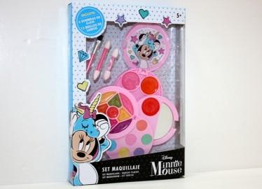 Set de Maquillaje Minnie Redondo 4 Pisos