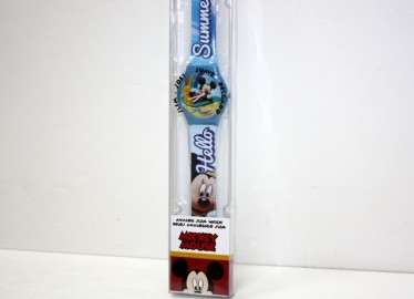 Reloj Analógico Mickey en Caja