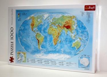 Trelf Puzzle Mapa del Mundo 1000 Piezas