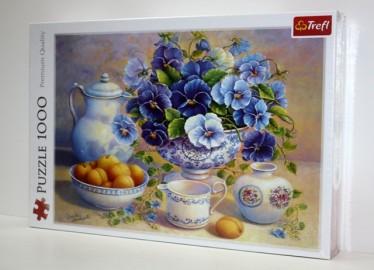 Trelf Puzzle Bouquet Azul 1000 Piezas