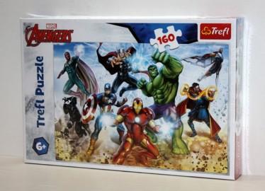 Trelf Puzzle Avengers 160 Piezas