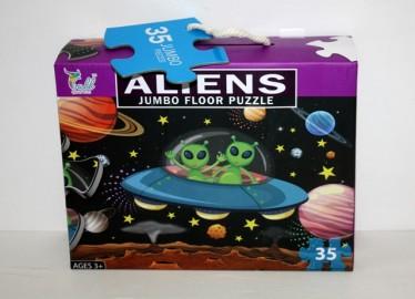 Puzzle Jumbo Aliens 35 Piezas