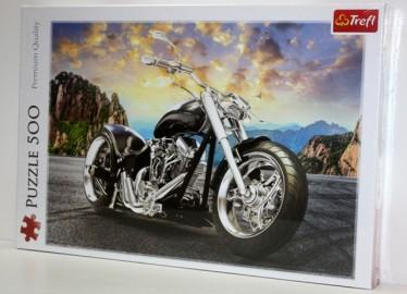 Trelf Puzzle Moto Chopper 500 Piezas