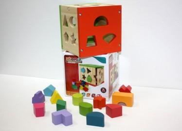 Cubo Madera Actividades