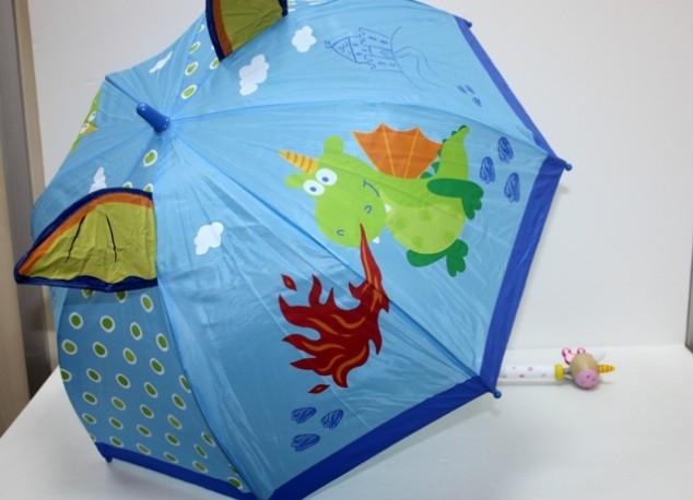 Paraguas Dragón/Unicornio Mango Madera x 2