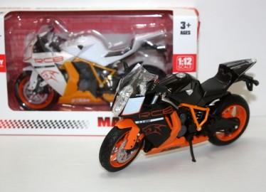 Moto Metal RCB HTM  Réplica Escala x 2