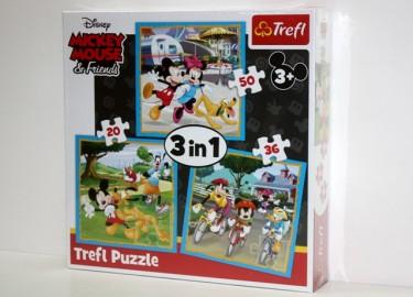 Trelf Puzzle Mickey 3 en 1