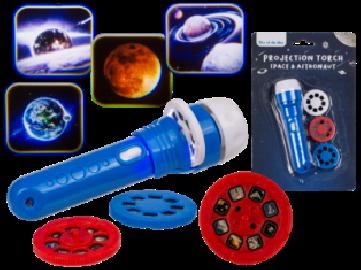 Linterna Proyección Astros 3 Discos