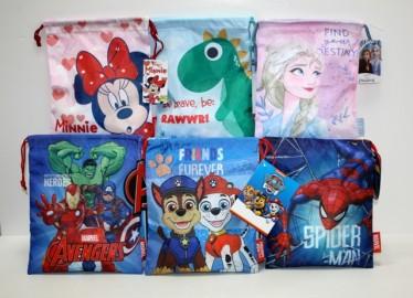 Bolsa Merienda Disney 27cm x 6