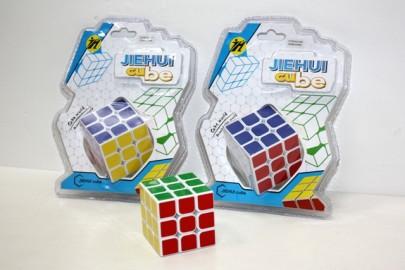 Cubo Tipo Rubick en Blister 3X3X3